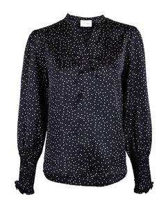 Landa Small Dot Blouse