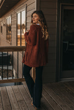 Load image into Gallery viewer, Sedona Cardigan - Rust