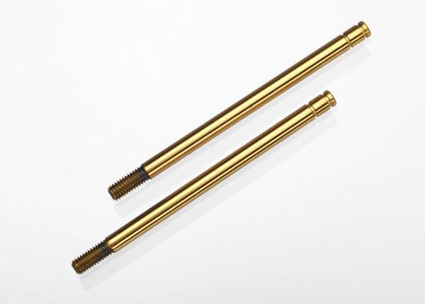 Hardened Steel, Titanium Nitride-coated Shock Shafts (long)