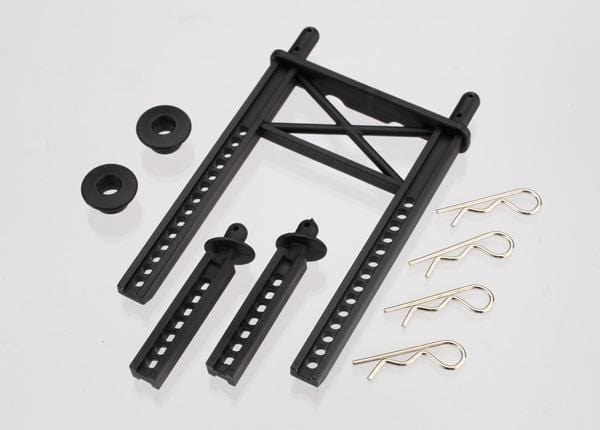Body mount, rear/ body mount posts, front (2)/body washer, rear (2) (for Fiesta/Rally body)