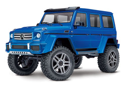 traxxas mercedes benz g500 rc araba