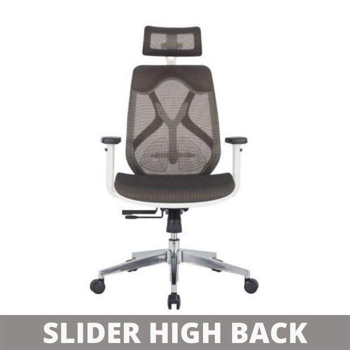 High Back Office Chair for Executive SLIDER HIGH BACK