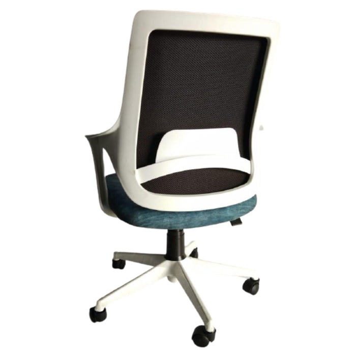 Low Back Executive Ergonomic Office Chair with Tilt Lock Mechanism PEAR (W) Blue