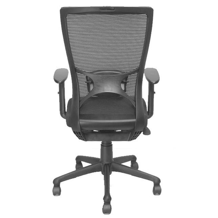 Medium Back Support Mesh Revolving Height Adjustable Chair for Home and Office Jack MB