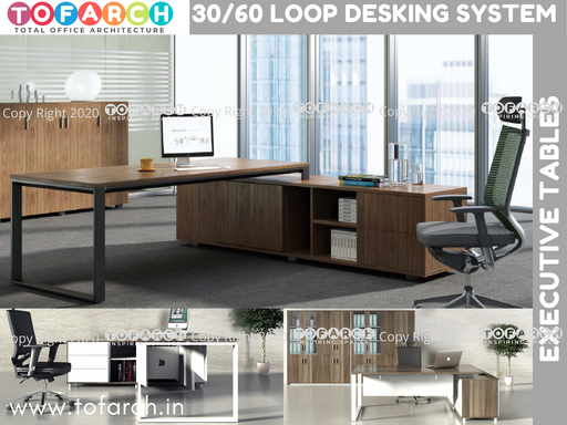 Executive Table Desking System 30/60 LOOP