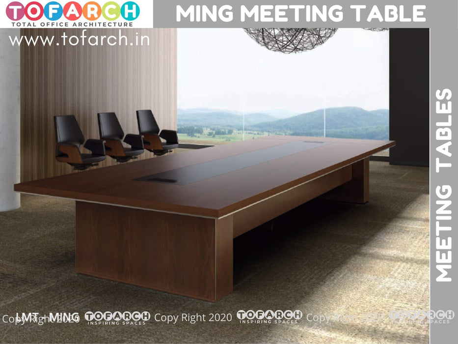 Business Meeting Table Wooden MING