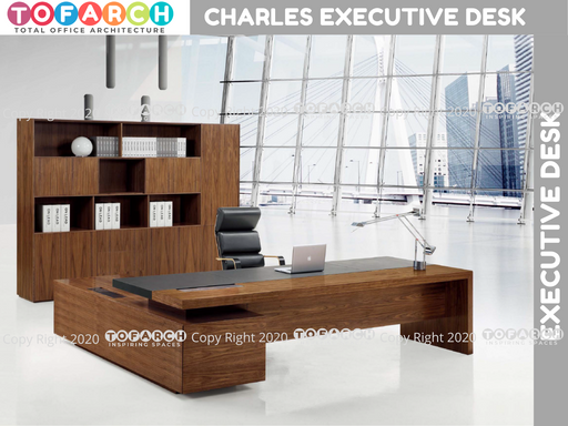 Executive Table Desking System CHARLES