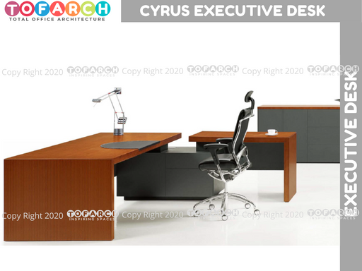 Executive Table Desking System CYRUS