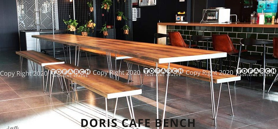 BUY ONLINE DORIS CAFE BENCHES