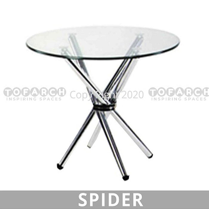 Discussion Table Glass Spider