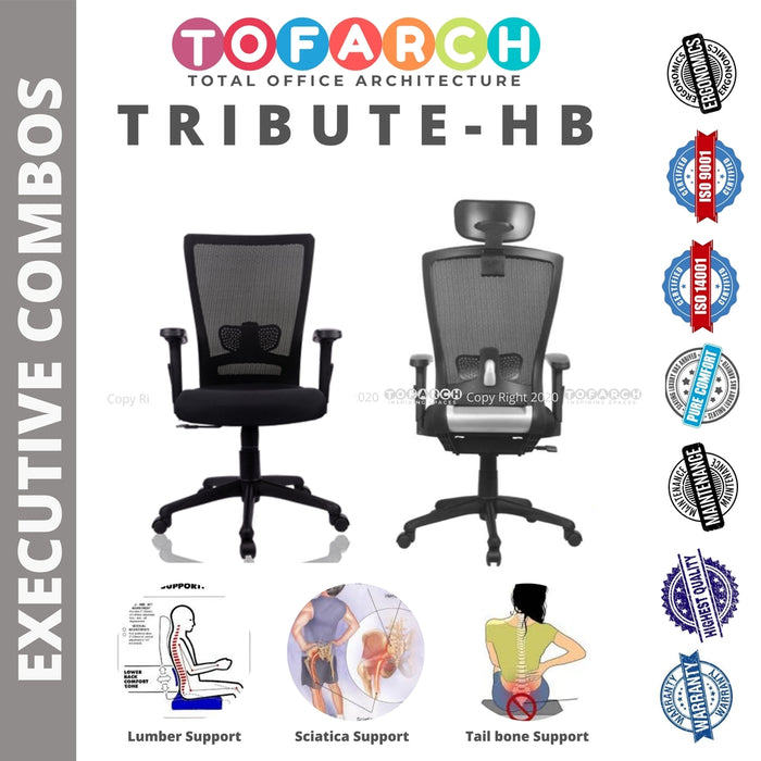 EXECUTIVE CHAIR COMBOS TRIBUTE-HB-MB