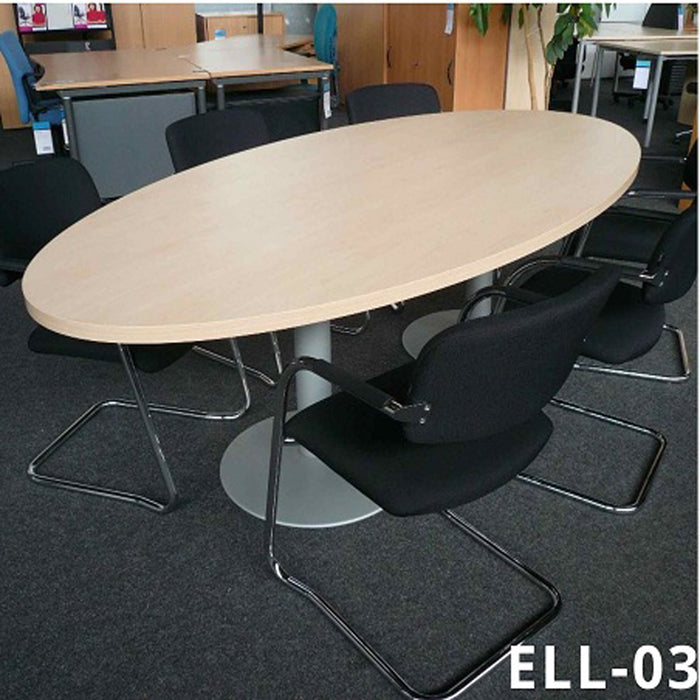 Elliptical Discussion Table for Office ELL-03