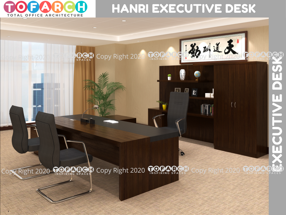 Executive Table Desking System HANRI