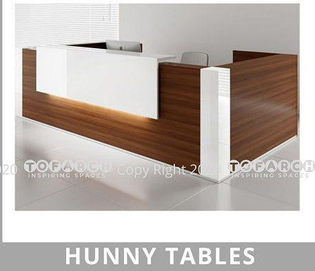 MODERN DESIGN HUNNY RECEPTION TABLE