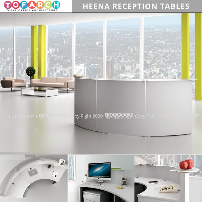MODERN DESIGN HEENA RECEPTION TABLE