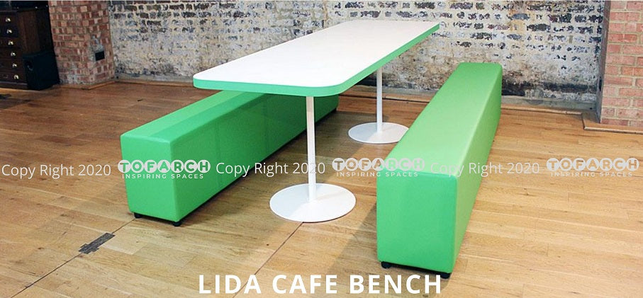 LATEST DESIGNER LIDA CAFE BENCHES