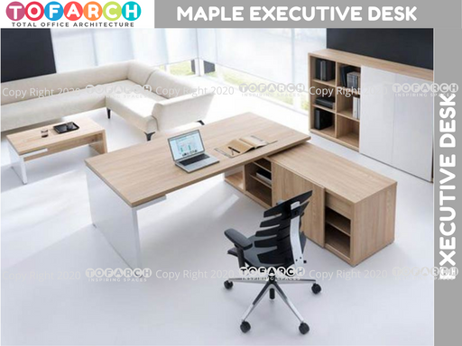 Executive Table Desking System MAPLE