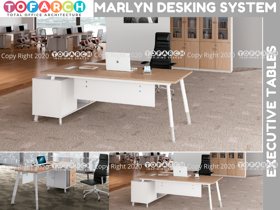 Executive Table Desking System MARLYN