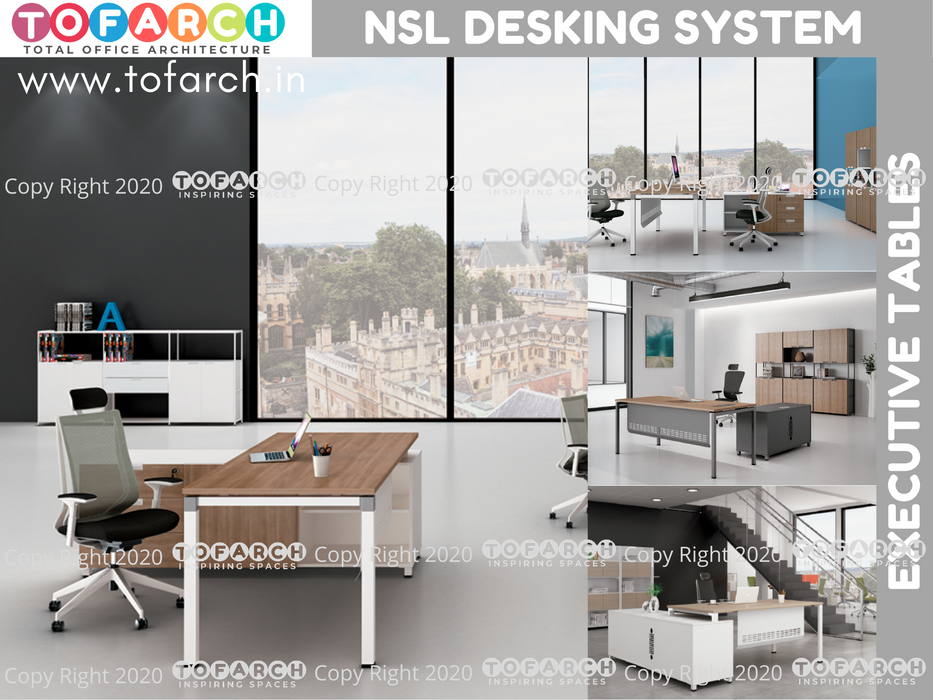 Executive Table Desking System NSL