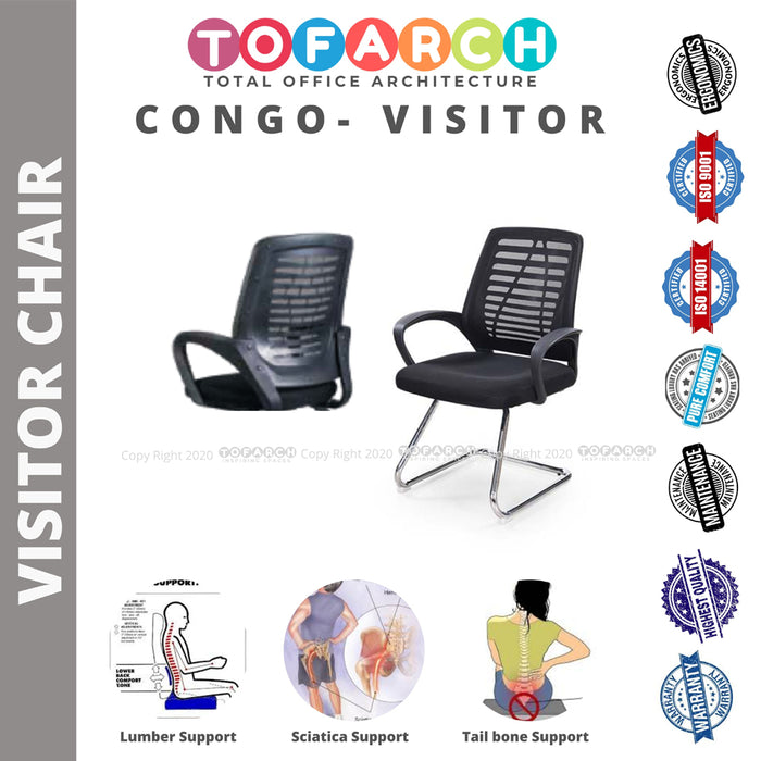 Office Guest Chair CONGO VISITOR