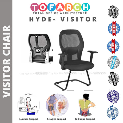 Office Guest Chair for Interview HYDE VISITOR