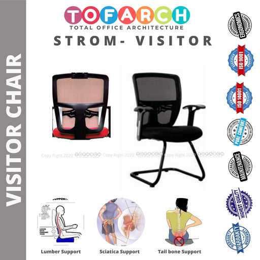 Office Visitor Chair STROM VISITOR