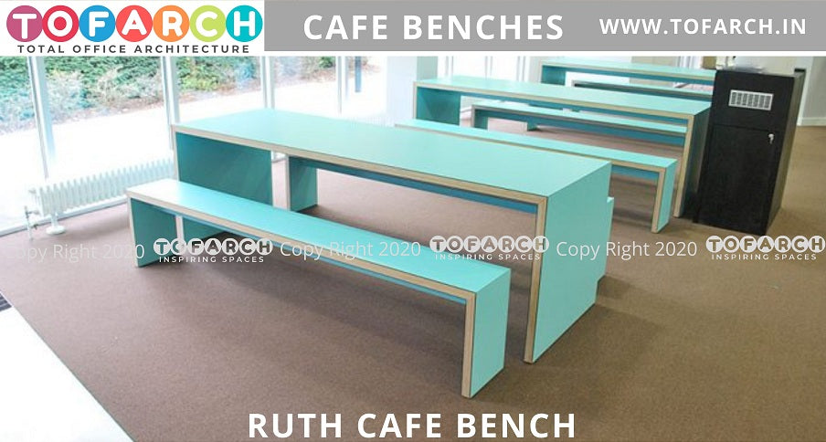 MODERN DESIGNER RUTH CAFE BENCHES