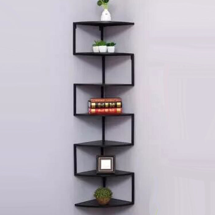 BUY ONLINE ROBIN BLACK CORNER SHELF BATHROOM SHELF