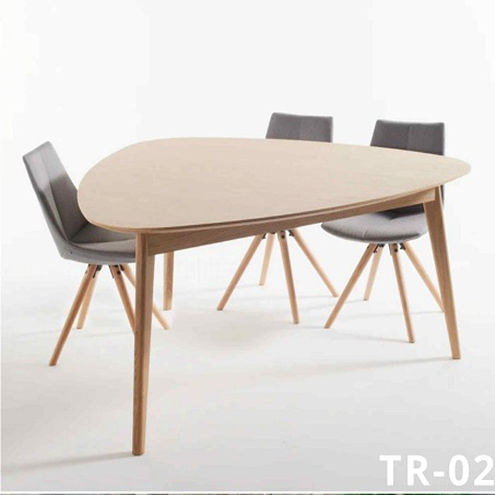Triangular Discussion Table for Office TR-02