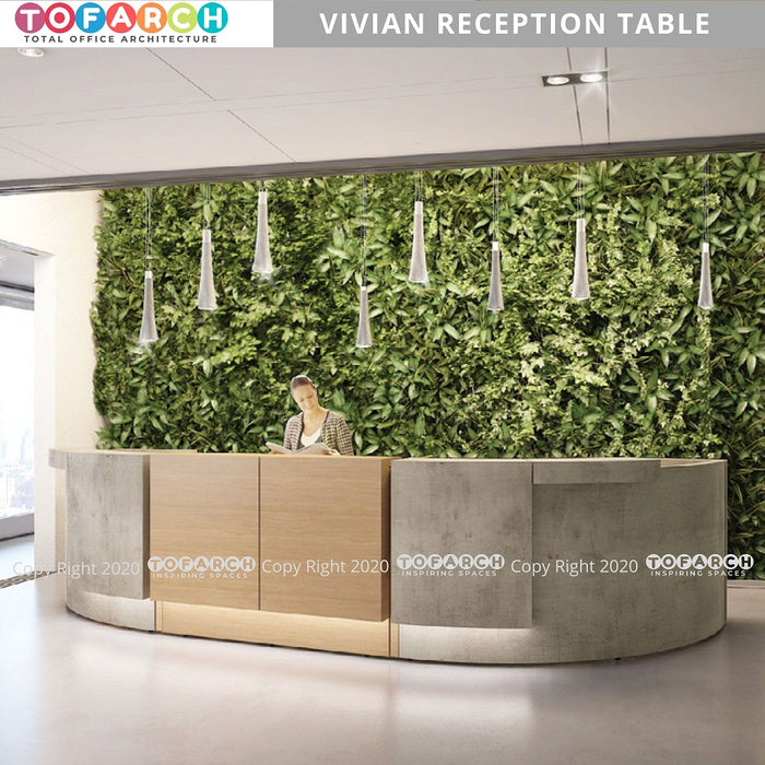 LATEST DESIGN VIVIAN RECEPTION TABLE