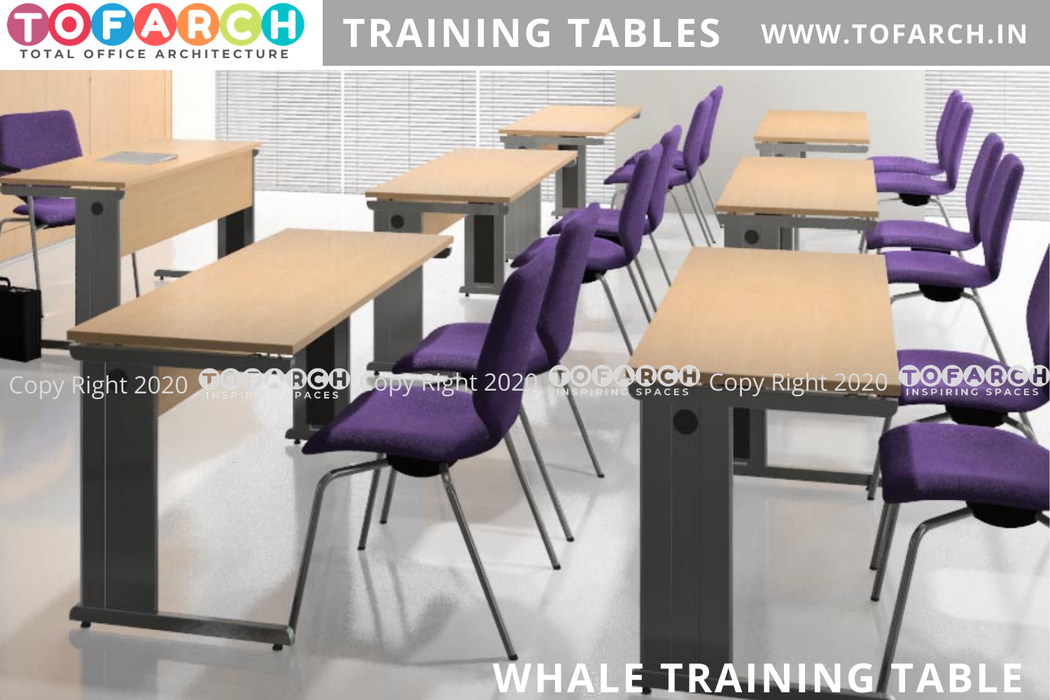 MODERN DESIGN WHALE TRAINING DESKS