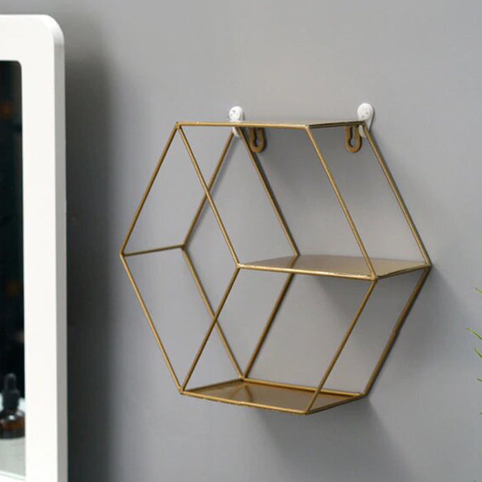 BUY ONLINE ZODIAC GOLDEN WALL SHELF