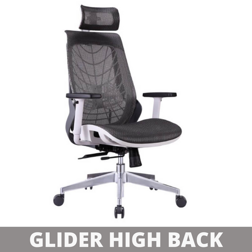 High Back Office Chair Glider HB