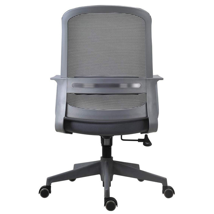 Low Back Mesh Staff/Executive Chrome Base Grey Office Chair Jane (G) LB