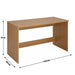 Wooden Study Desk for Home STRAIGHT