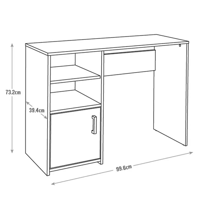 Desk for Home and Office Suitable for Study and Wor from Home CLASS