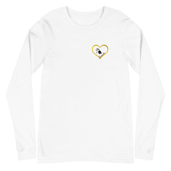 All You Need Is Love (Gold) - Adult Unisex L/S Tee
