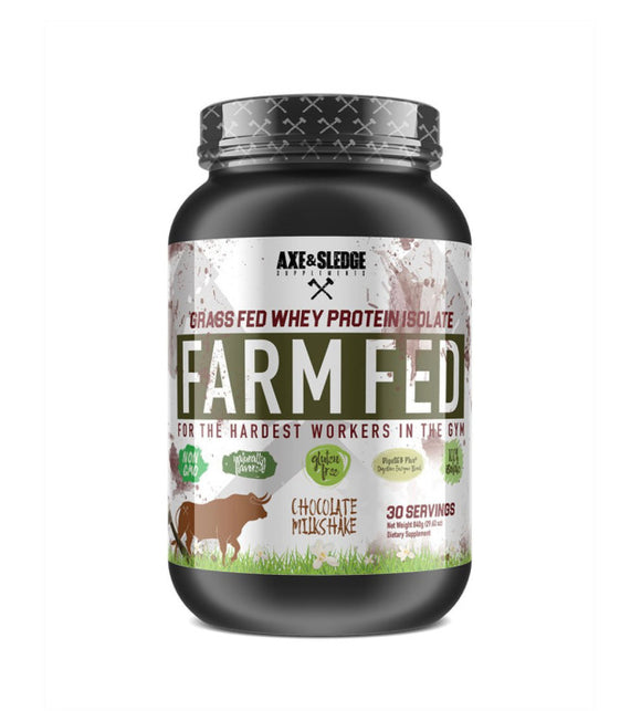 FarmFed Protein/Grass-Fed Whey Protein Isolate