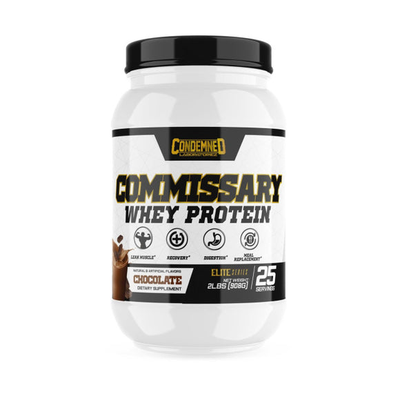 Commissary Whey Protein
