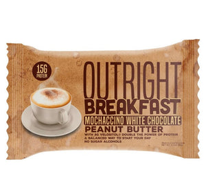 Breakfast Mochaccino White Choco Outright bar