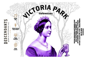 Victoria Park can label from breweries Waterloo