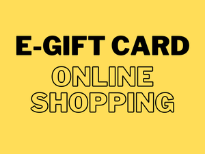 E-Gift card for online shopping only at our online beer shop\