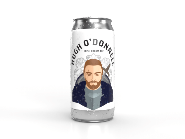 Hugh O'Donnell Irish Cream Ale Tall Can