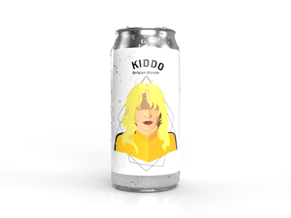 Kiddo Belgian Blonde Ale Tall Can from Descendants a craft brewery near you