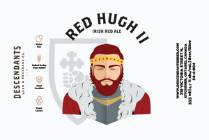 Can label for Red Hugh Two available at Descendants Beer and Beverage Co.