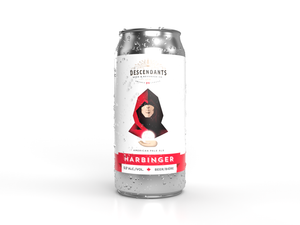 Harbinger craft beer can, beer stores Waterloo