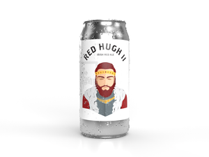 Red High Two Irish Red Ale can, drink local beer
