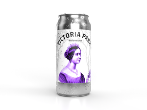 Local breweries Victoria Park can with white background