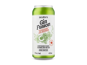 Ginger, cucumber, mint, and lime gin beverage available on our online beer shop