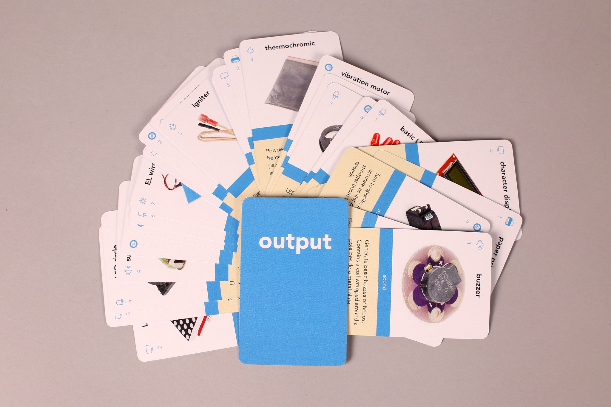 Output cards (35 cards)